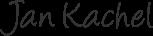 Jan Kachel Unterschrift